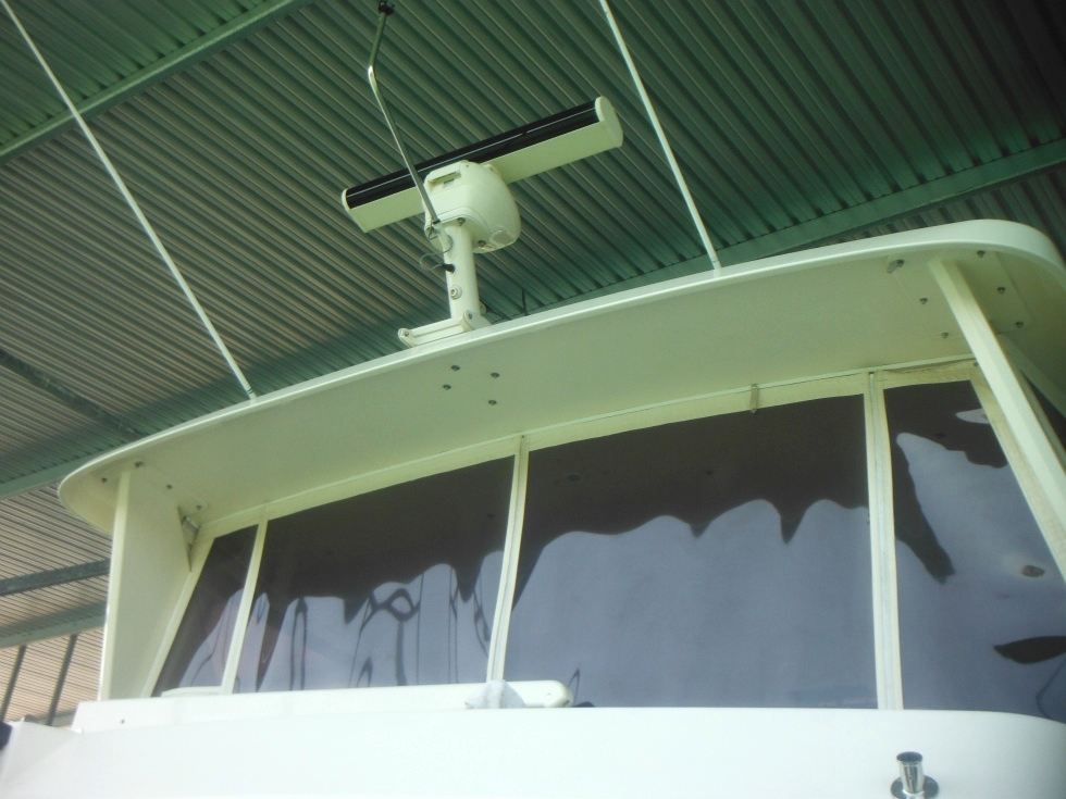 53 Tollycraft Radar and Solar on Pilot House Motor Yacht  PHMY  TollyCraft Yacht